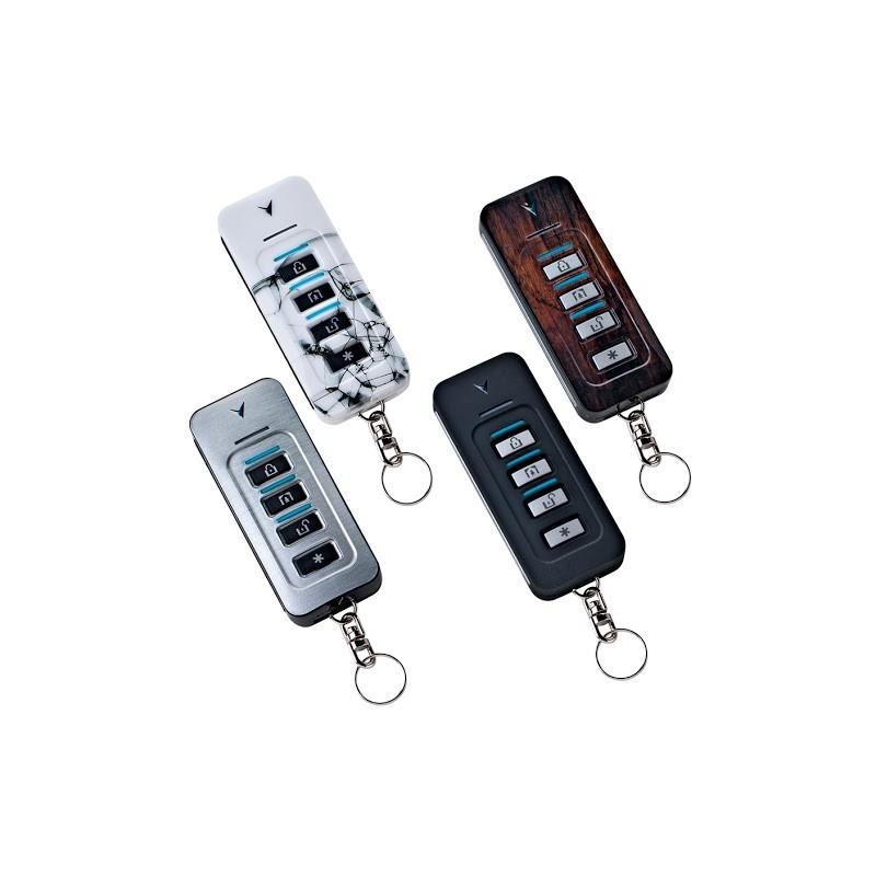 Télécommande 4 boutons pour gamme PowerMaster Visonic plusieurs coloris