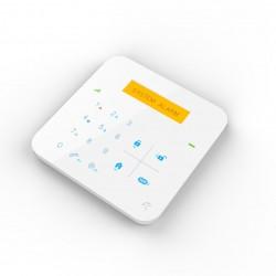 centrale d'alarme gsm sans fil radio design blanche