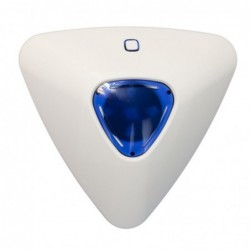 vue arrière centrale d'alarme gsm rtc tactile (3191)