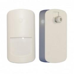 centrale d'alarme tactile noire design (3199)