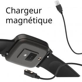 montre avec chargeur magnétique