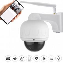 camera motorisée extérieure full hd avec micro zoom x4 wifi ip