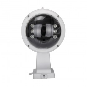 4 cameras dômes exterieures motorisées avec vision nocturne 40 mètres