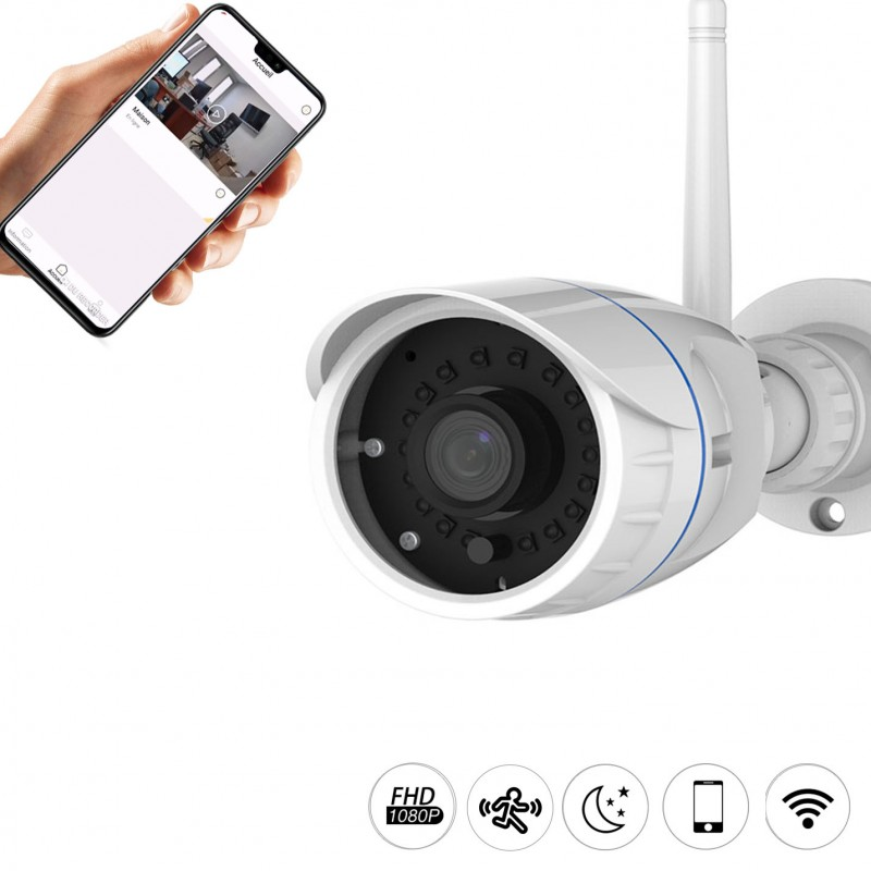 Caméra de vidéo-surveillance type tube Vstarcam