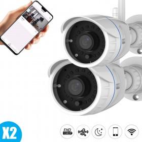 Lot de deux caméras full hd Vstarcam