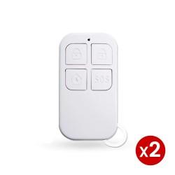 telecommandes 4 boutons pour alarme radio tuya