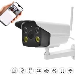 Caméra de surveillance full hd couleur connectée