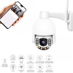 camera exterieure avec detection d'humain et tracking