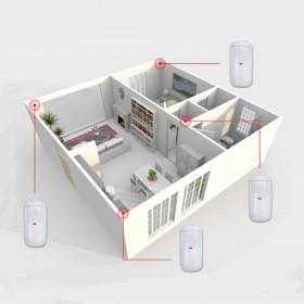 schema d'installation pour détecteur de mouvement alarme radio