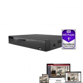 enregistreur numérique avec 1To d'enregistrement et application bitvision