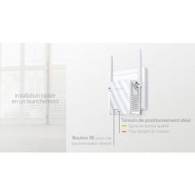 TP-LINK Répéteur wifi N300Mbps avec témoin de positionnement idéal (640)