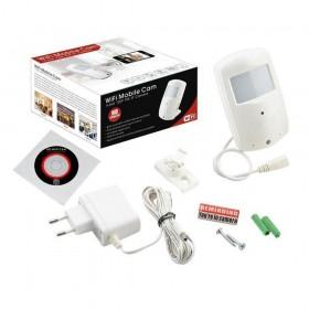 Détecteur de mouvement avec caméra espion IP 720p Wifi (3876)