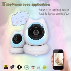 caméra babyphone bonne nuit IR infrarouge avec micro  photo et vidéo (3890)