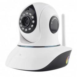 Caméra IP HD wifi intérieure rotative pour vidéo-surveillance