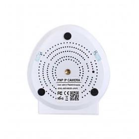 caméra de surveillance HD IP wifi exterieur alu blanc avec vision de nuit (2882)