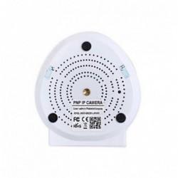 caméra de surveillance HD IP wifi exterieur alu blanc avec vision de nuit (2926)