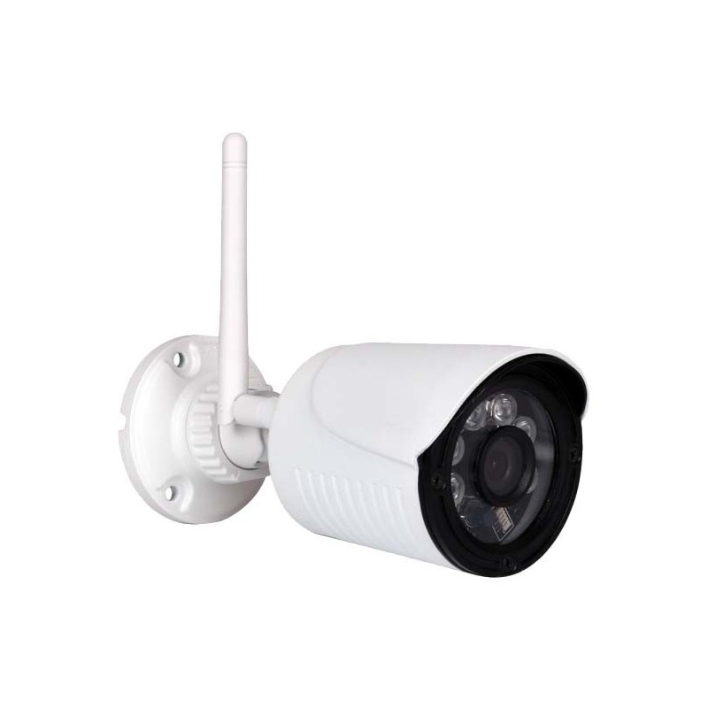Caméra IP extérieure alu blanc