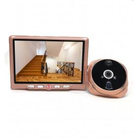 Judas de porte numérique grand angle HD avec détection de mouvement