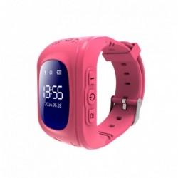 Montre connectée enfant GPS et GSM rose