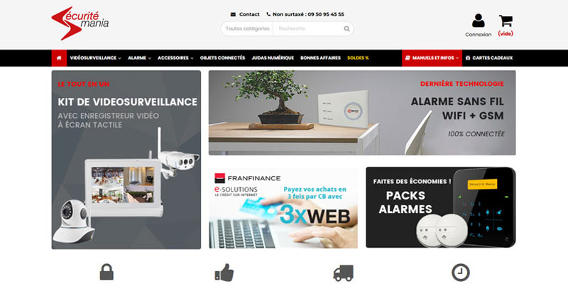 La boutique securitemania