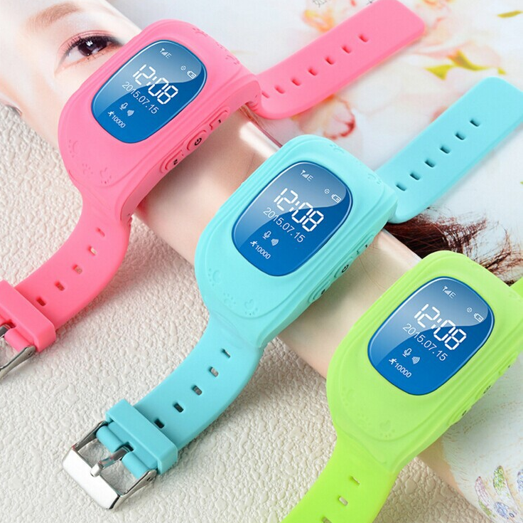 Smart watch enfants colorées