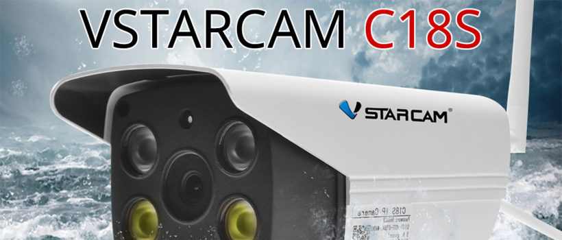 Vstarcam : caméras de video-surveillance – Caméra C18S