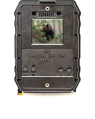 Caméra de chasse Gsm vue de dos
